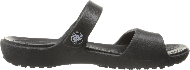 NWT NEW CROCS CORETTA CLEO BLACK sandals slides shoe 6 7 8 9 10 11 women/'s