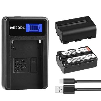 Amazon.com: Grepro - Juego de cargadores de batería ...