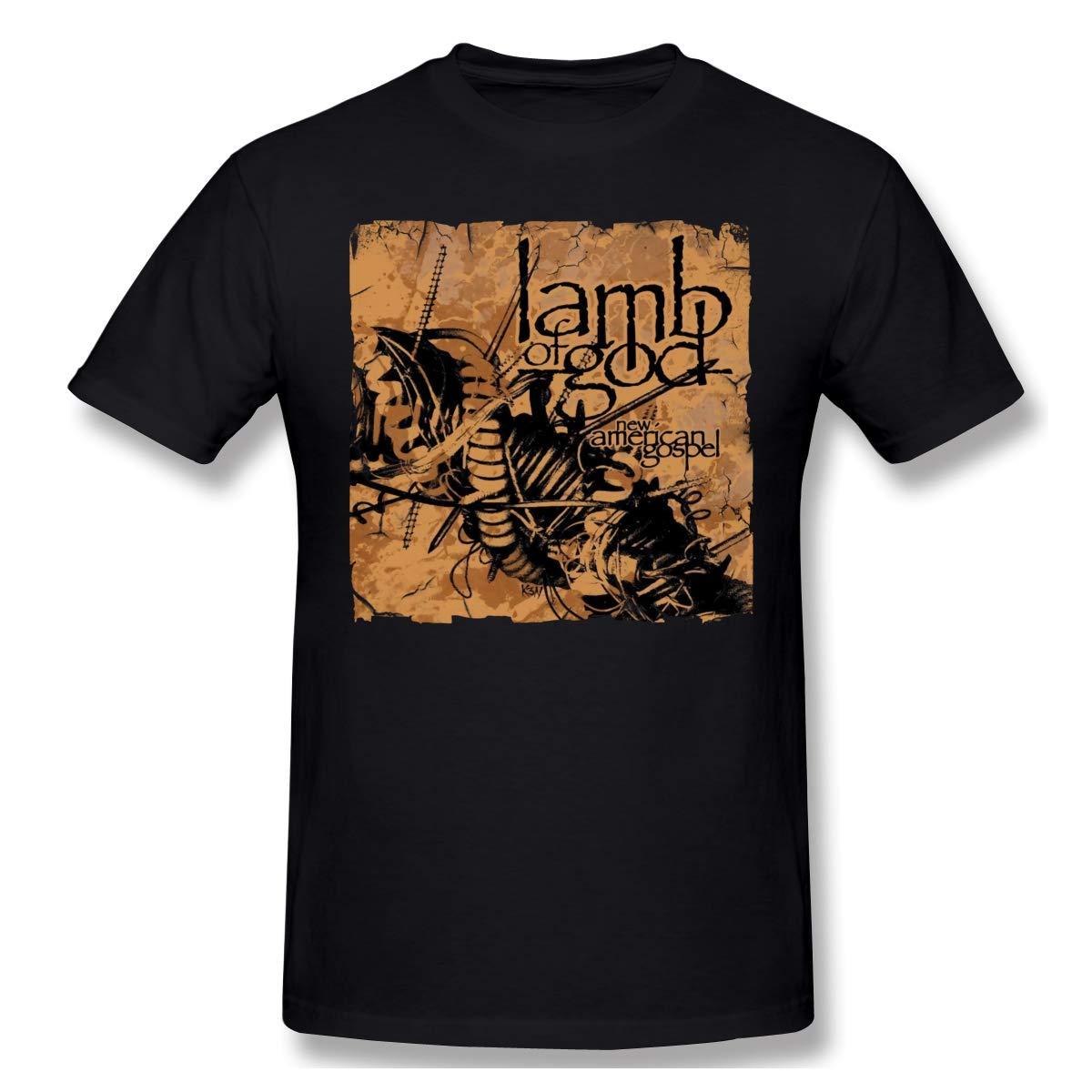 Lamb of God New American Gospel Comfortable Music Theme Classic Men's Short Sleeve T-Shirt