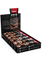 Prozis Zero Snack, 35 g, Doppio Cioccolato, Confezione da 12 Pezzi