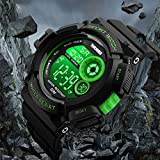 EOBP Sport watch 50M waterproof LED back light electronic watch student wrist watch SKEMEI watch