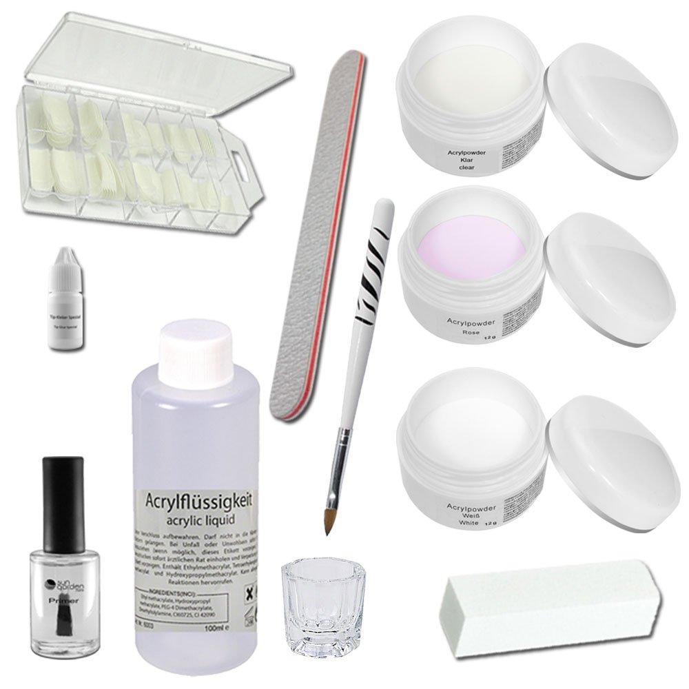 Acrylic Starter Set - Siena - professional nail kit - nail starter kit - Acrylic Liquid - Acrylic Powder Sun Garden Nails 3787