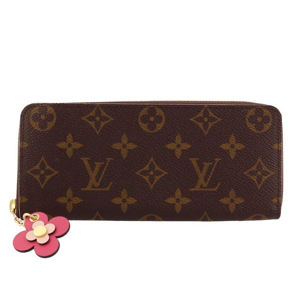 ルイヴィトン 財布 レディース ポルトフォイユ クレマンス ブラウン M64201 [並行輸入品] B078H7YLXD
