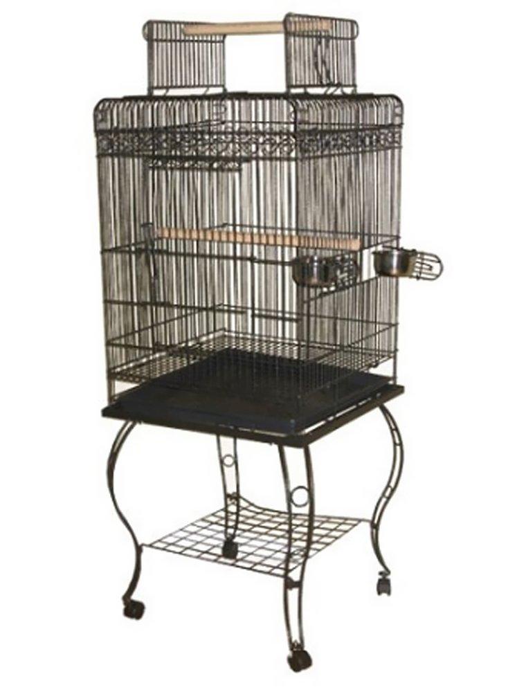 A&E Cage 600H White Economy Play Top Bird Cage