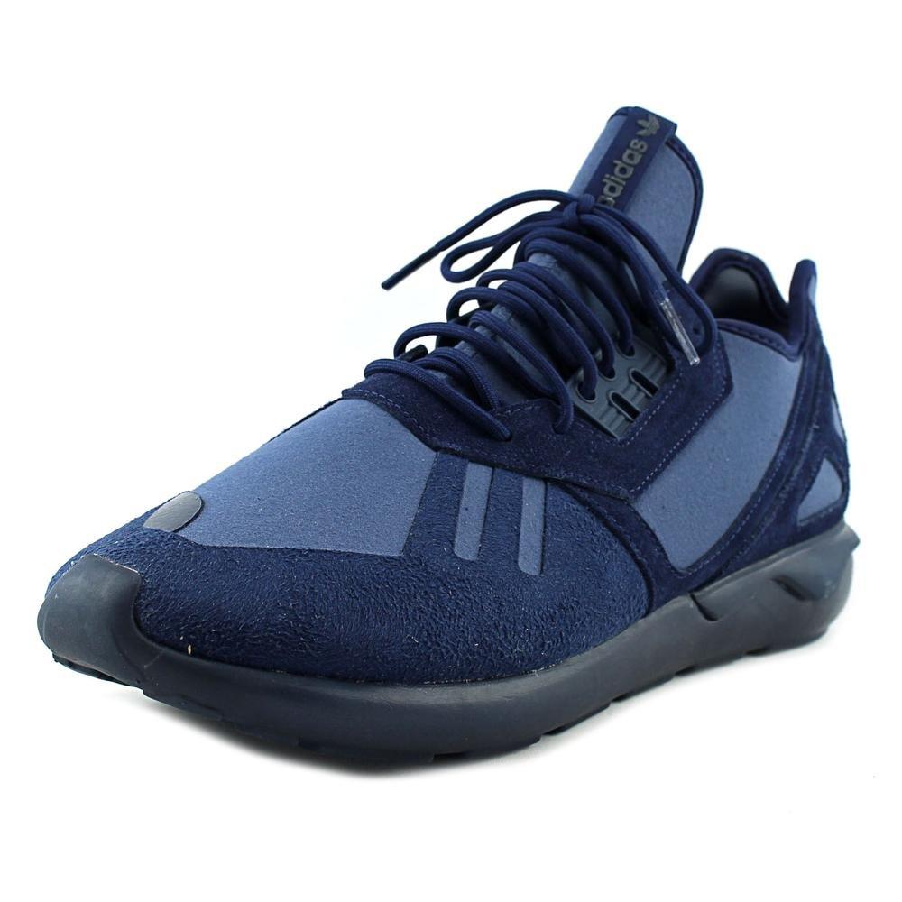 adidas Tubular Runner Men's Grey/White B41275 B01EG4Y9MU 8.5 D(M) US|Midnight Indigo