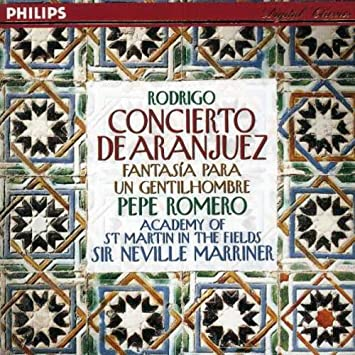 Amazon.com: Rodrigo: Concierto De Aranjuez - Fantasia Para ...