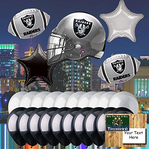 Anagram Oakland Raiders Balloon Set -
