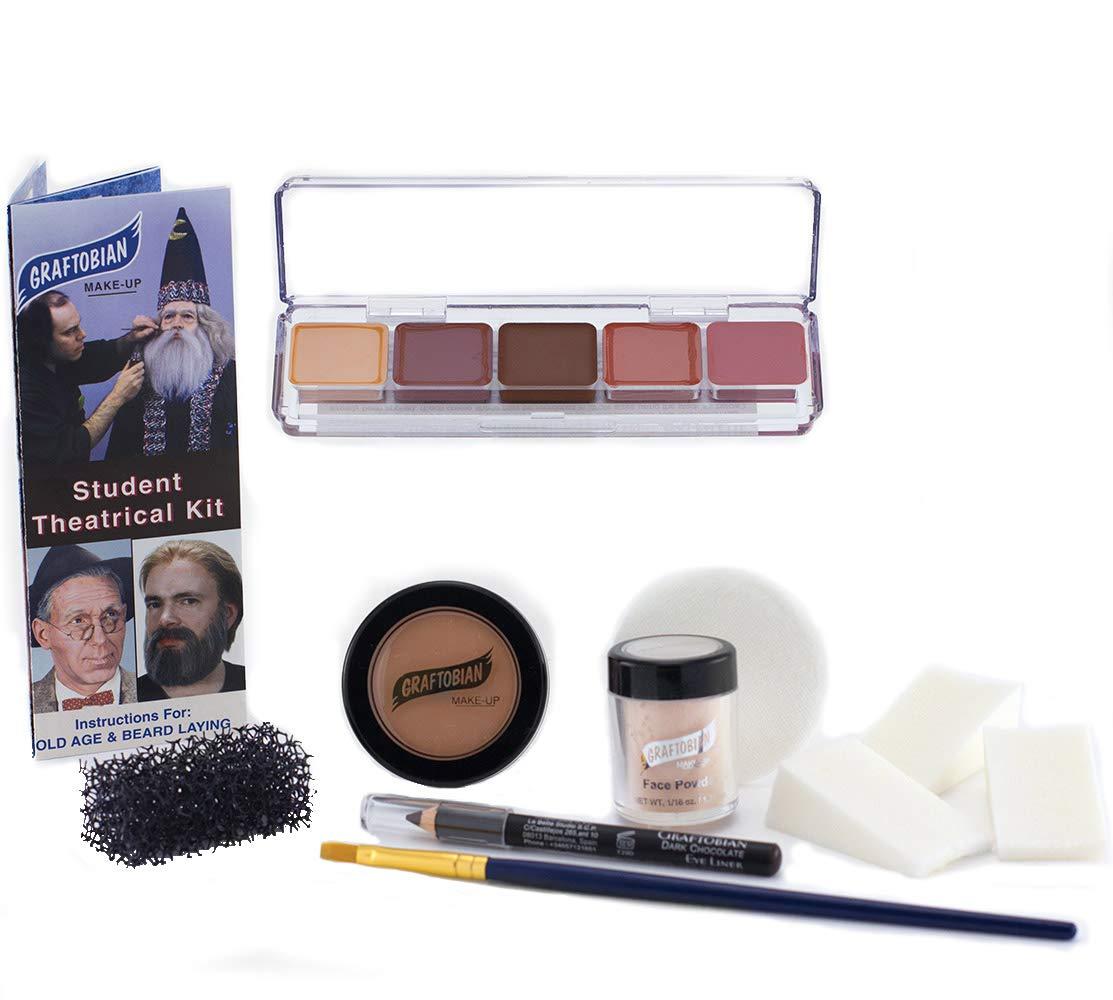 Student Theatrical Makeup Kit - Light/Fair - Graftobian