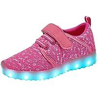 Zapatillas luminosas para zapatos con luz LED para niños y niñas