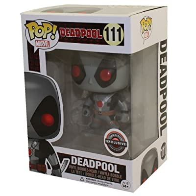 Funko Pop Marvel: X-Force Deadpool Collectible Figure, Multicolor: Toys & Games