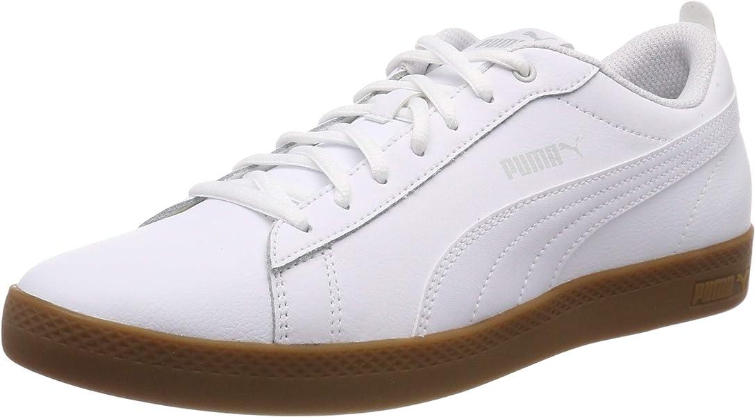 a5b5568eb6 Puma Smash WNS V2 L, Sneakers Basses Femme Blanc (Puma White-Gray Violet