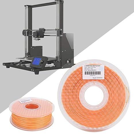 Tangxi Filamento PLA de impresión 3D, 1.75 mm Cambio de Color 1KG ...