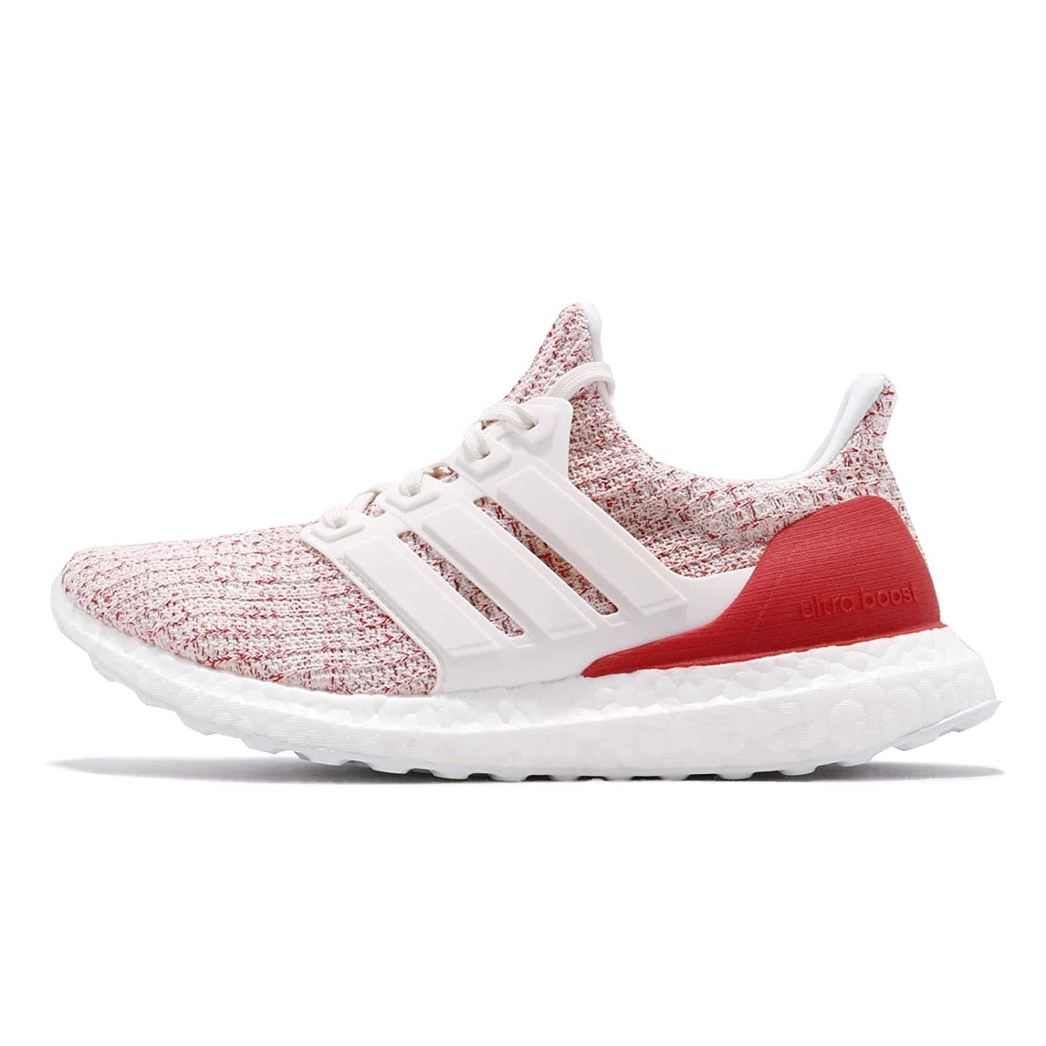 [アディダス] ウルトラブースト レディース ランニング シューズ UltraBOOST W DB3209 [並行輸入品] B07MJJDL61 CHALK WHITE / CHALK WHITE / ACTIVE RED 24.0 cm 24.0 cm|CHALK WHITE / CHALK WHITE / ACTIVE RED