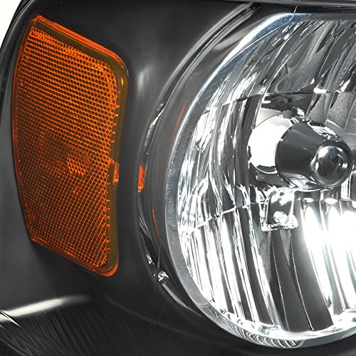 Spec-D Tuning 2LH-F15004JM-RS Black Headlight Crystal Housing
