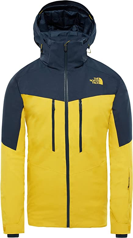 The North Face Chakal Chaqueta de esquí Yellow/Navy: Amazon ...