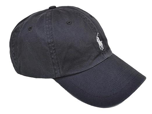 polo chino baseball cap combat grey one size script ralph lauren weekend bear cotton