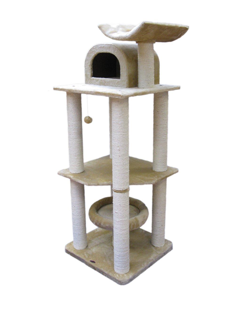 Nobby 63067-02 Kratzbaum für Katzen LITAO, beige