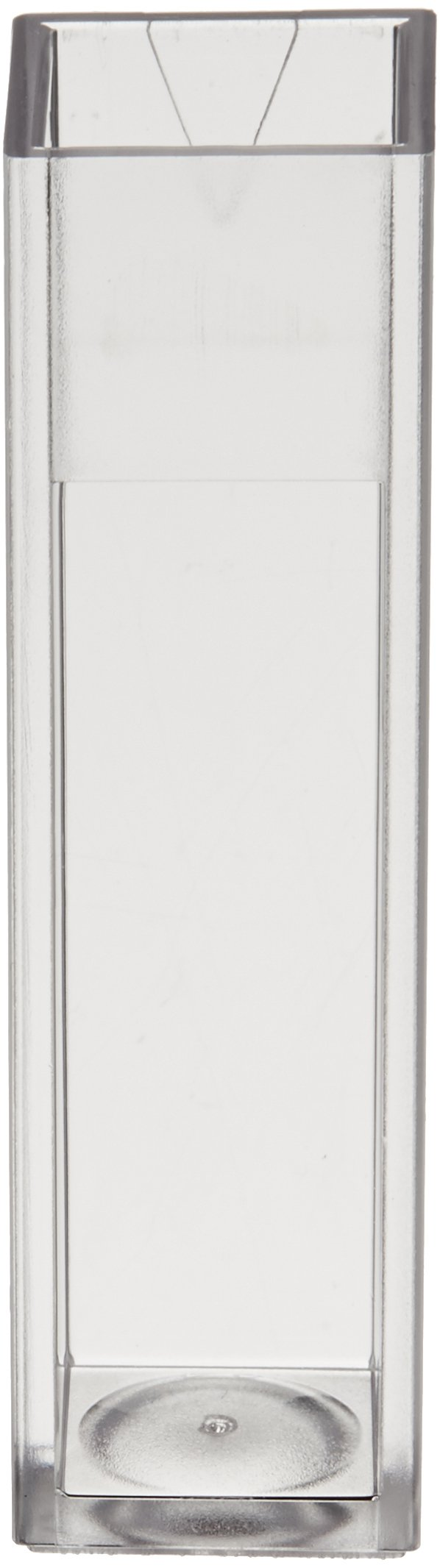 Jenway 060-084 Plastic Disposable Cuvette for Spectrophotometry, Visible Wavelength, 10mm Path Length, 2.4 to 4.5ml Fill Volume (Pack of 100)