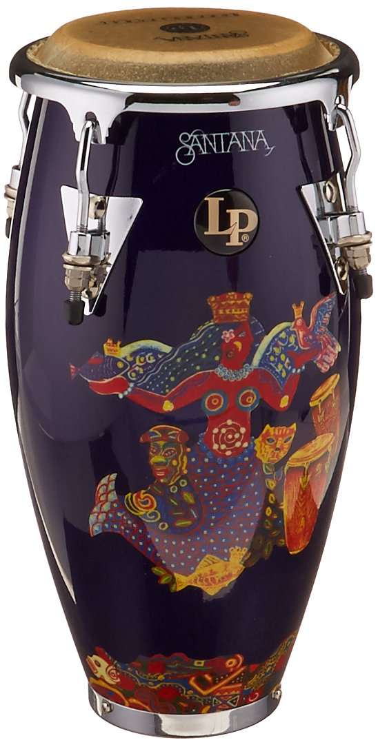LP Santana Abraxas Mini Conga (Purple) Latin Percussion LPM197-IW