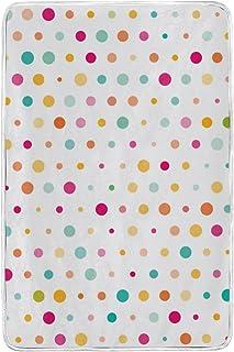 alaza Variopinto Sveglio Dots Microfibra di Poliestere Coperta del tiro 60' x 90' Leggero Divano Accogliente Blanket Bed Blanket dal Mio Quotidiano