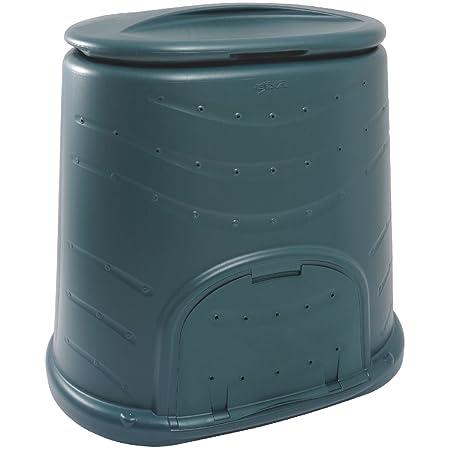 EDA Cubo para Compost, 450 L, 130 x 77,5 x 96,6: Amazon.es: Hogar