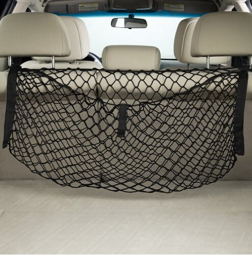 Nylon Car Trunk Boot Storage Luggage Organiser Cargo Net Cargo Tidy TOPDECO