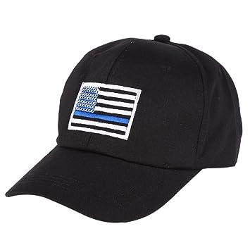 Moresave - Gorro con bandera estadounidense y logotipo de la ...