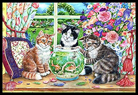 Carolines Treasures HMHE0011JMAT English Pointer by Michael Herring Indoor or Outdoor Mat 24 x 36 Multicolor
