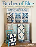 quilts patterns - Patches of Blue: 17 Quilt Patterns and a Gallery of Inspiring Antique Quilts