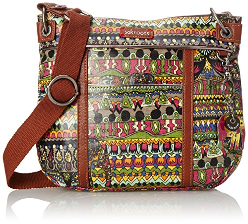 sakroots-artist-circle-small-cross-body-charcoal-one-world-one-size