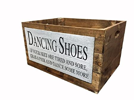 d5b4869f6b75b9 Wedding Dancing Shoes Crate  Amazon.co.uk  Kitchen   Home