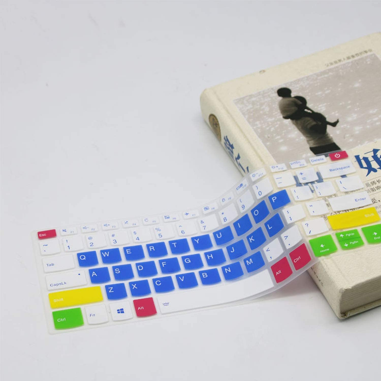 Maxsan 13 14 Laptop Keyboard Cover Protector for Lenovo Yoga 920 13//920 14 2 in 1 14 13.9Yoga 6 Pro 13.9 Inch-Black