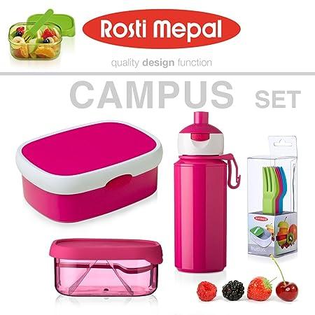 4e268b024c84 Rosti Mepal - Set Lunch Box + Fruit Box + Pop Up Drinking Bottle + ...