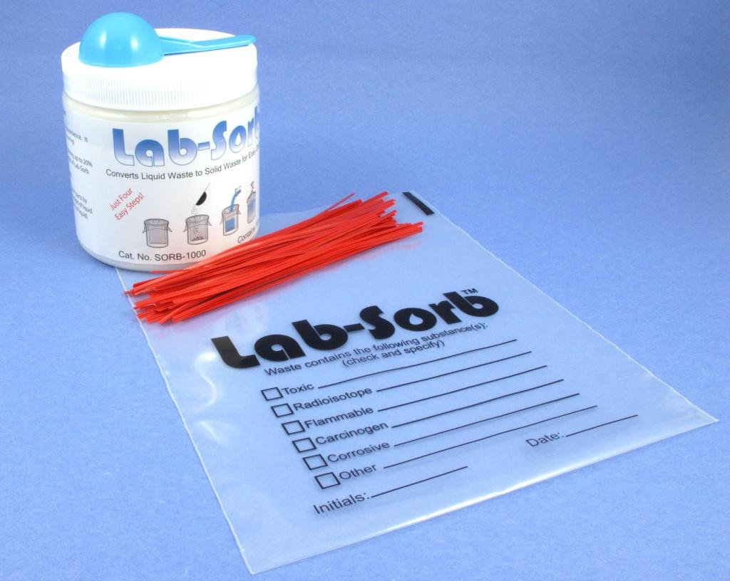 Diversified Biotech Sorb-2300, Lab-Sorb Liquid Disposal Kit, Variety (31/Kit)