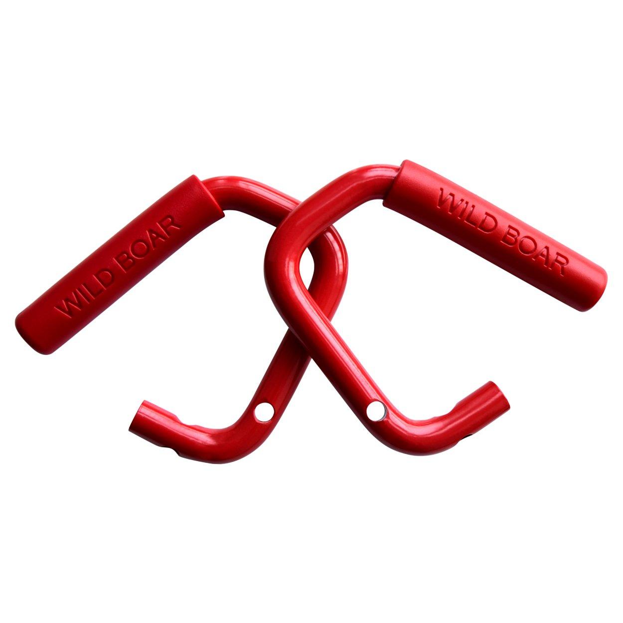 Allinoneparts Red Grab Bar Front Grab Handle for Jeep JK JKU Wrangler Unlimited Accessories 2 /& 4 Door 2007-2018
