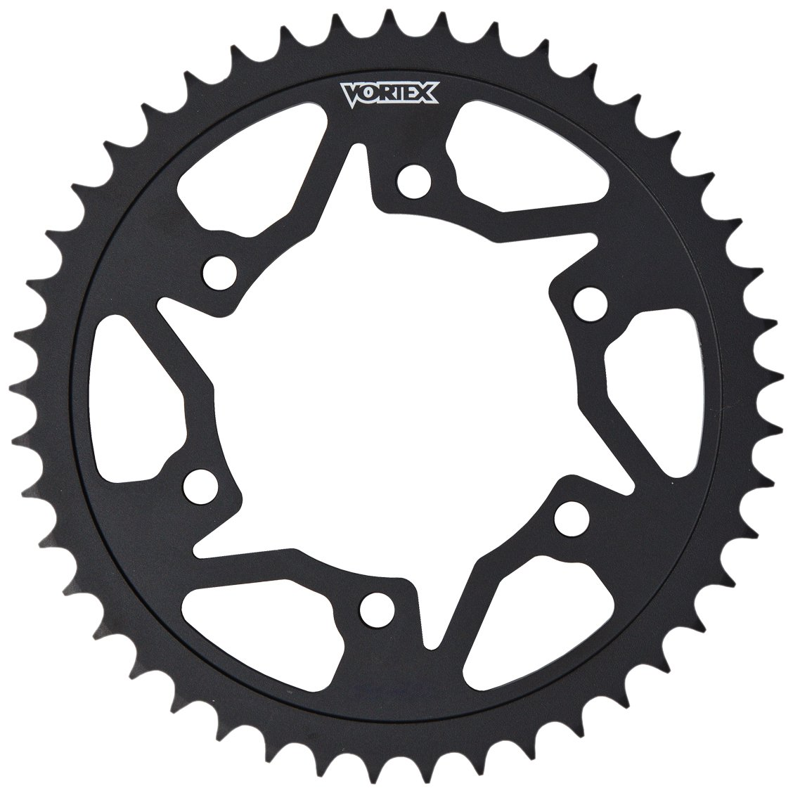 Vortex 252S-46 Black 46-Tooth 525-Pitch Steel Rear Sprocket