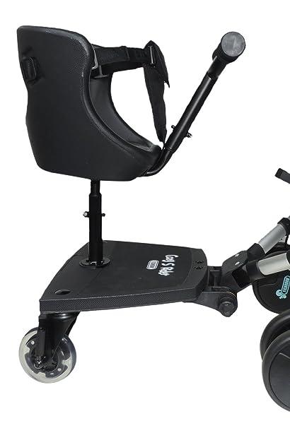 Eichhorn Cozy S Rider - Asiento para cochecito de niños negro negro Talla:universal