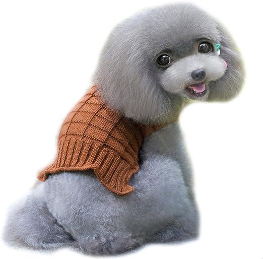Amphia – Disfraz Gato Navidad, Mascotas Ropa Torsión – Mascotas de Perros de Gatos de de Invierno Cálido de Punto de Jersey pequeño Cachorros de Abrigo de Vestido: Amazon.es: Productos para mascotas