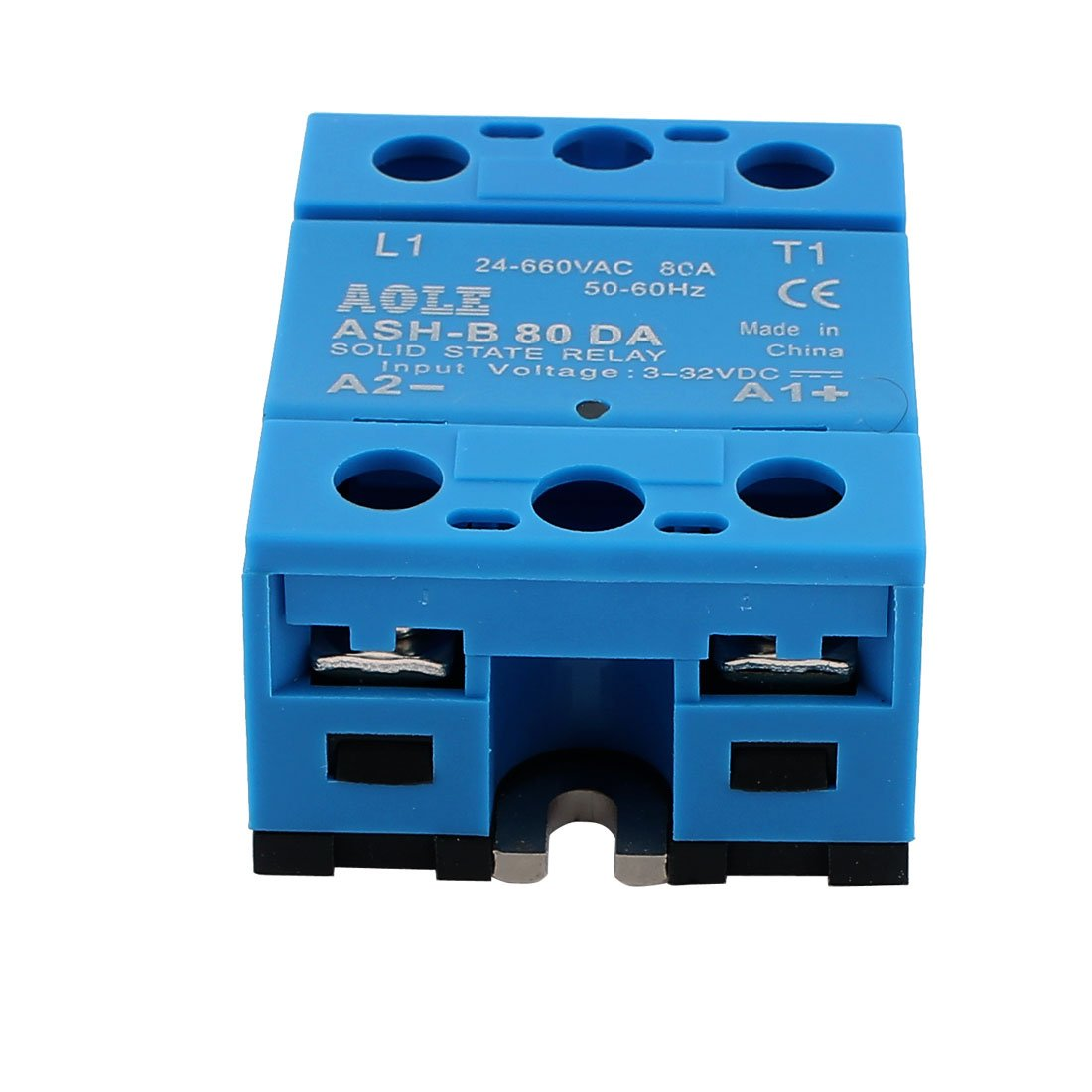 UXCE9 a13070600ux0181 BEM-14840DA 3-32V DC to 24-480V AC 40A Output Single Phase SSR Solid State Relay Uxcell