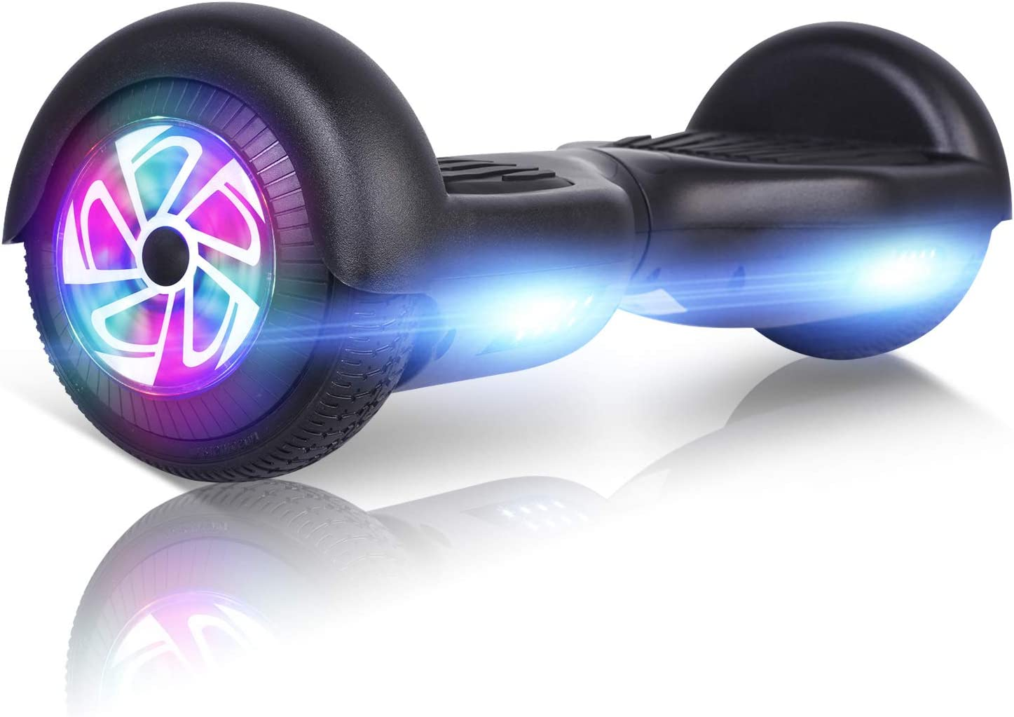 FLYING-ANT Hoverboard, 6.5 Inch Self Balancing Hoverboards Black / US