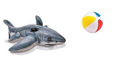 Equitación Animales de baño animal hinchable Tiburón para ...