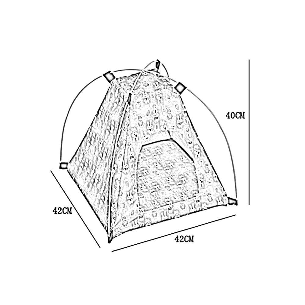 ZHWEI - Caseta Plegable para el hogar y el Aire Libre, Fácil de Llevar, Resistente al Agua, Protección Solar para Perros y Gatos: Amazon.es: Hogar