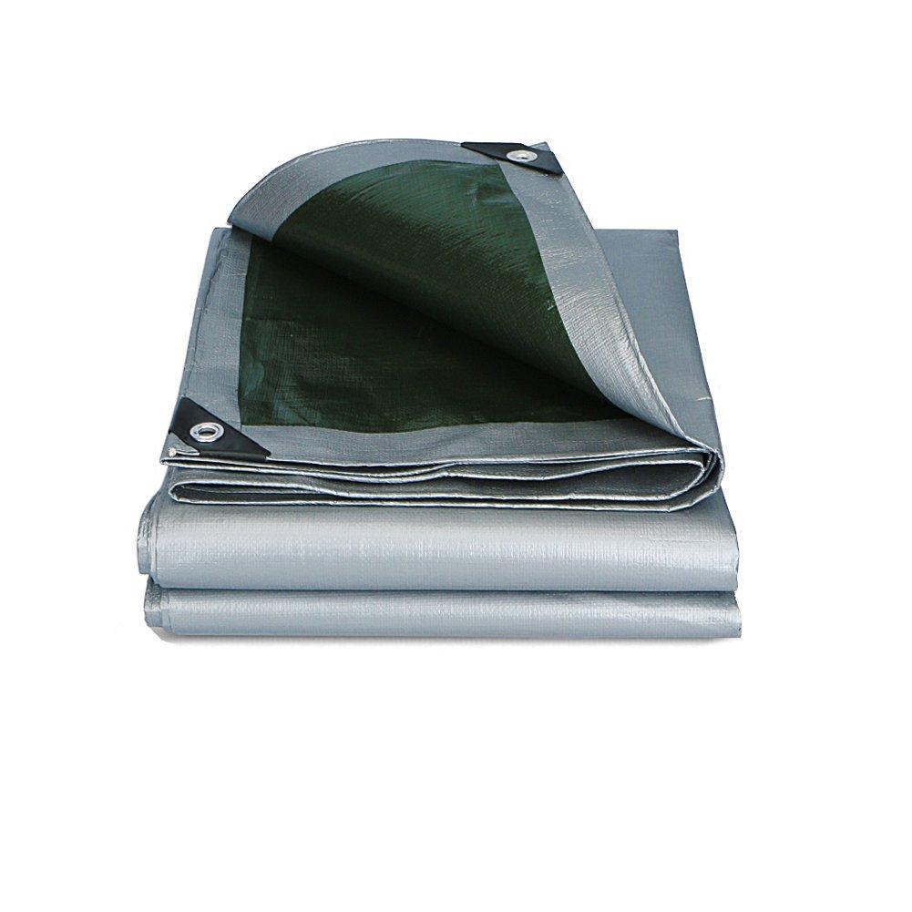 WUPO Multifunktionale Plane - Outdoor-Zelt, Wasserdicht, Eisenfrei, Schneesicher, Eisenfrei, Wasserdicht, Multi-Größe, Seilzug 574543