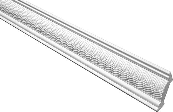 blanc 10 M/ètres Profil Coinc/é Eps Formfest Marbet 53x53mm B-6 5 Faire