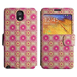 LEOCASE Increíble Modelo Rosado Funda Carcasa Cuero Tapa Case Para Samsung Galaxy Note 3 N9000 No.1000592