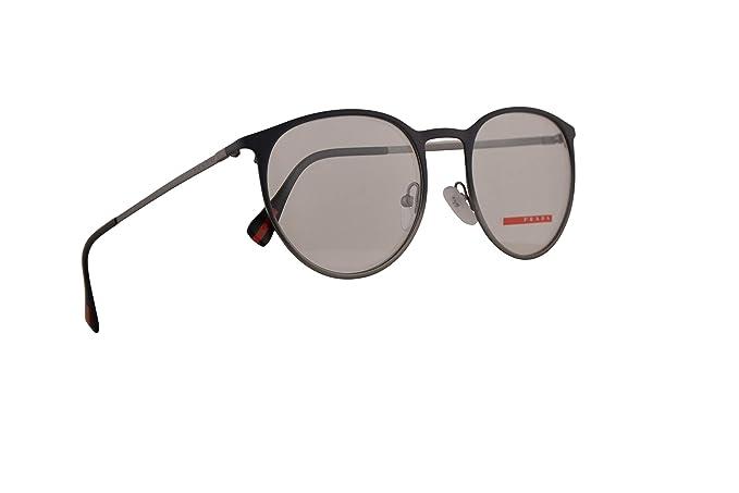71a9fe6b8fc2 Prada PS50HV Eyeglasses 52-19-140 Grey Gradient Gunmetal w/Demo ...