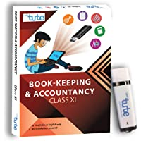 LetsTute All in One Book-Keeping & Accounting For Class 11th - Pen Drive/Video Lectures-Perfect Gift for Students (2018-19)