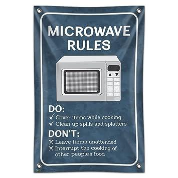 Microondas reglas oficina 33