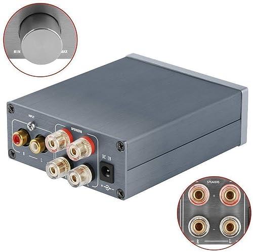 2 Channel Stereo Audio Class D Amplifier Mini Hi-Fi Professional Digital Amp