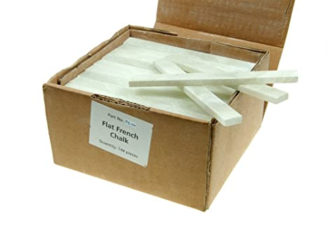 Full box 144 pieces Langley Flat French Chalk